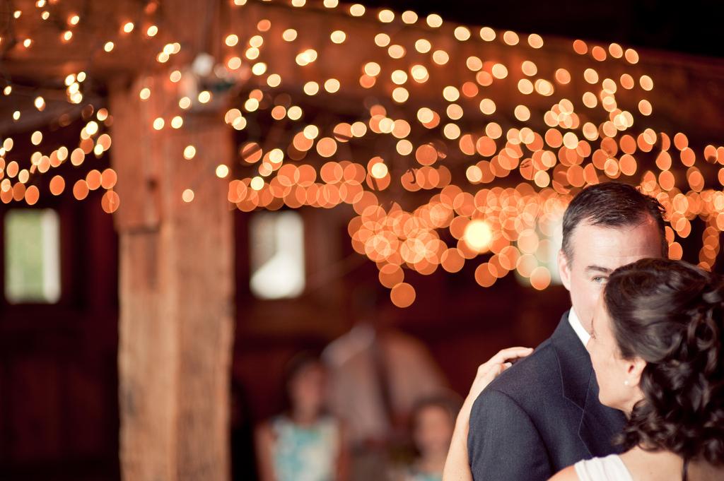 A wedding in a barn in Holliston Ma for Linda Steve