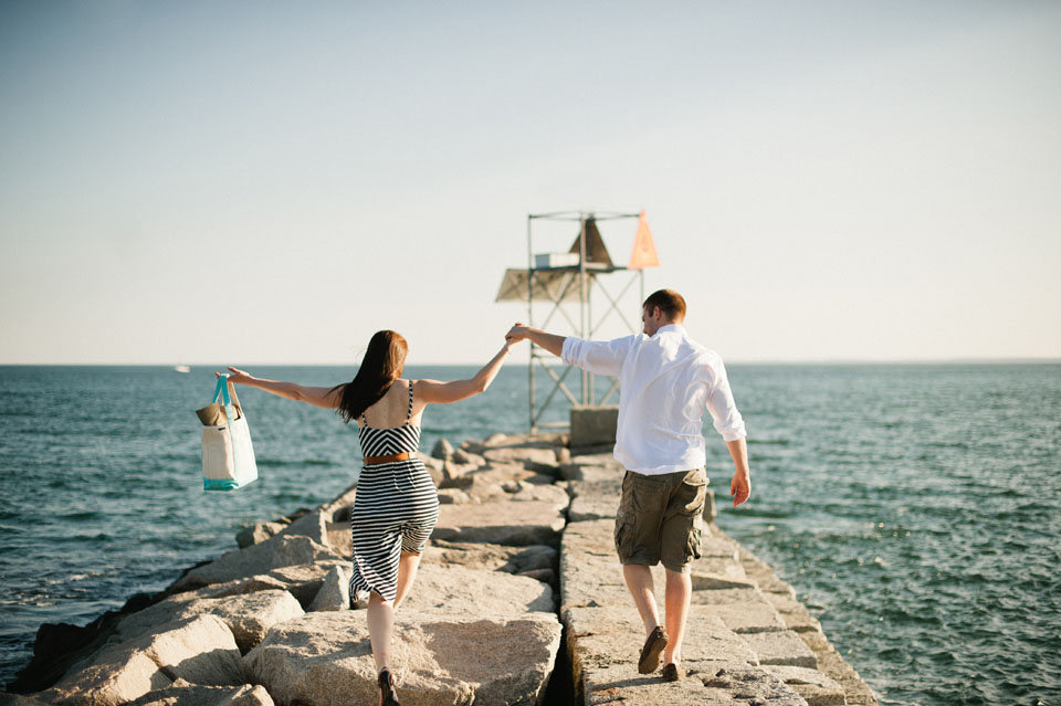 Kennebunkport engagement session