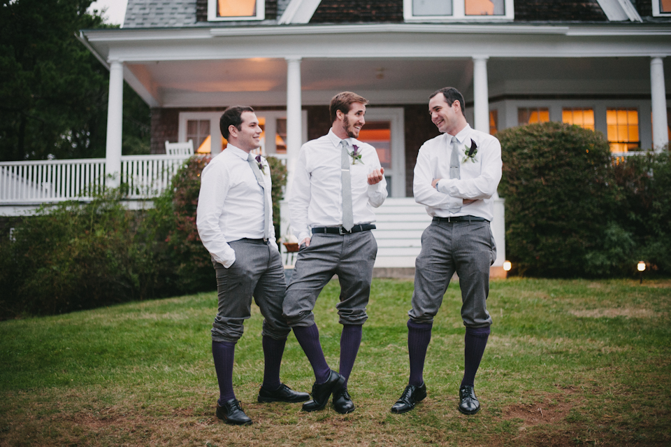 groomsmen being silly!